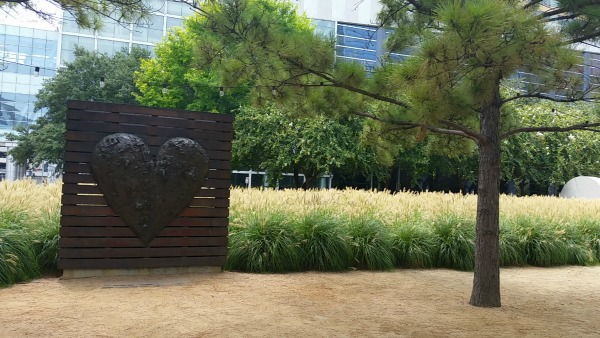 Discovery Green | Houston, Texas | Heart Art