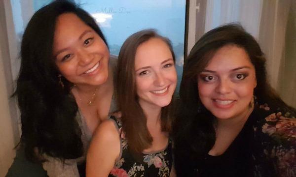 Mellie Dee, Amy, Patricia Pregame