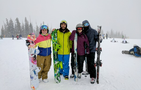 River Run | Keystone, Colorado | Skiing, Snowboarding, Caitlin, Rameen, Mellie Dee, Scruffy