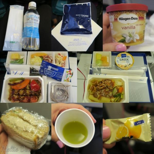 ANA Aircraft | Houston to Narita Food