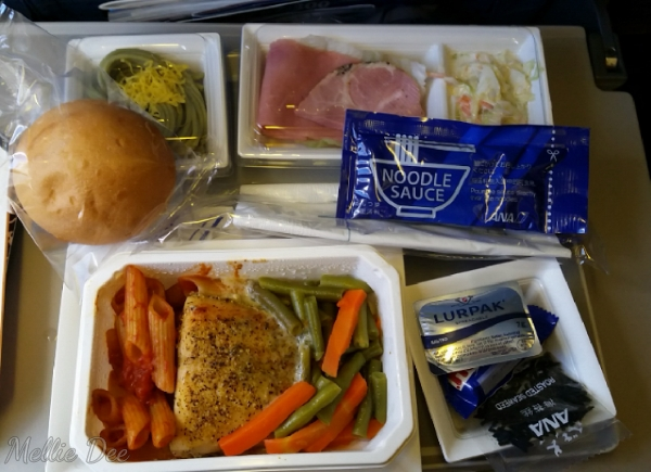 Ana Airlines | Dinner