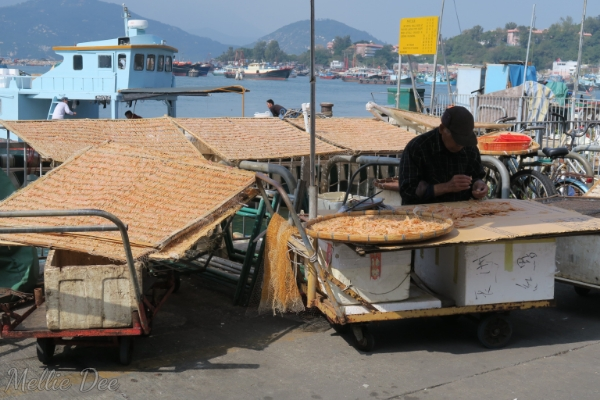 Cheung Chau, Hong Kong | Drying Shrimp