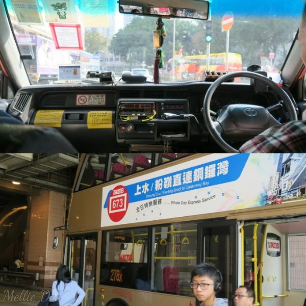 Hong Kong Taxi & Bus