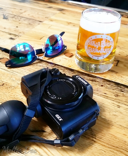 Oskar Blues Brewery | Austin, Texas | Canon, Sunglasses, Beer