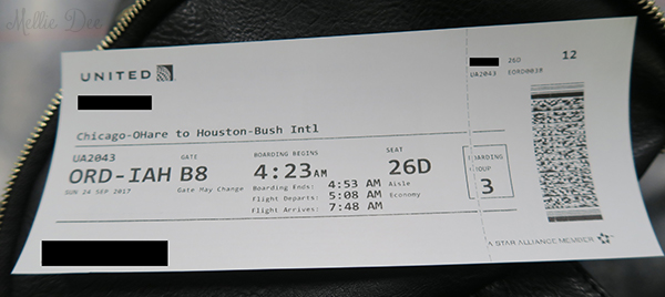 Chicago to Houston | United Ticket