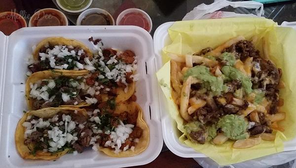 Los Balito's Taco Shop   Katy, Texas   Mini Tacos & Carne Asada Fries