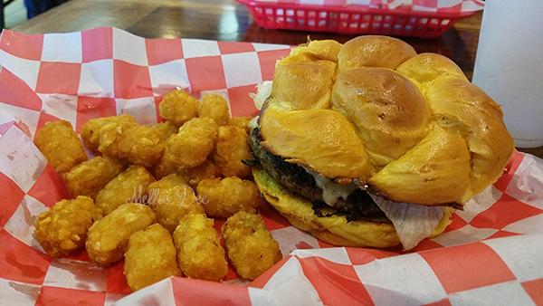 Ramble Creek Grill   Richmond, Texas   All Jacked Up Burger
