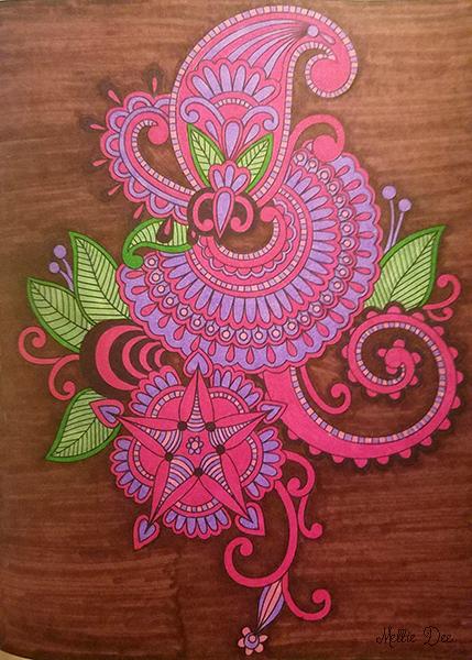 2018 | 003/365 | Henna Art Coloring Book