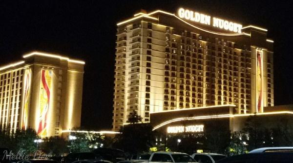 Golden Nugget Casino | Lake Charles, Louisiana | Nighttime View