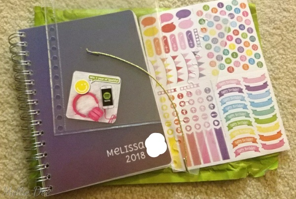Personal Planner | Delivery Contents