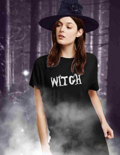 Witch T-Shirt For Women