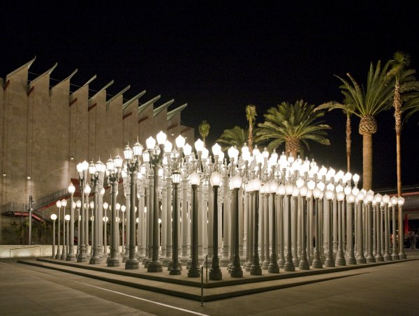 LACMA Urban Lights Los Angeles