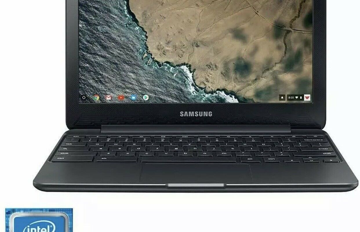 "Brand New Samsung 11.6"" Chromebook Intel Celeron N3060 2.48GHz 4GB Ram 64GB eMMC"