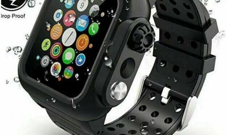 For Apple Watch iWatch Series 6 5 4 3 2 1 SE Waterproof Case with Band Strap