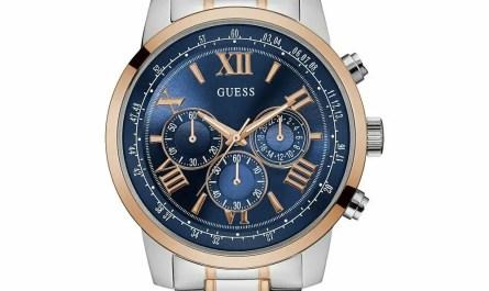 Guess W0379G7 Analogue Quartz Stainless Steel 45mm Men's Watch