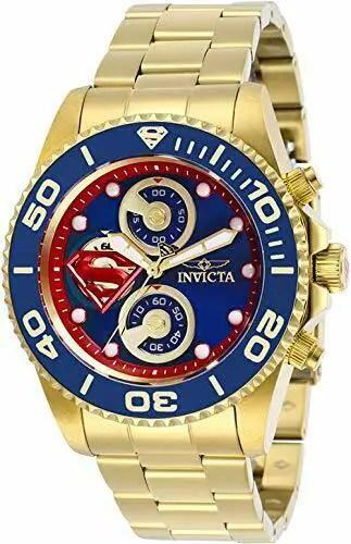 Invicta Men's 29064 DC Comics Quartz Chronograph Blue Dial Watch