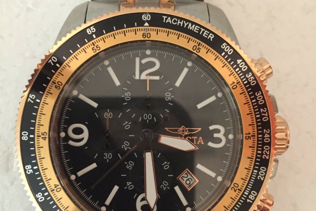Invicta  Specialty 13965  Stainless Steel Chronograph  Watch