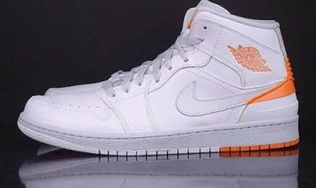 Air Jordan 1 Retro '86, White Kumquat, Size 11, 2014