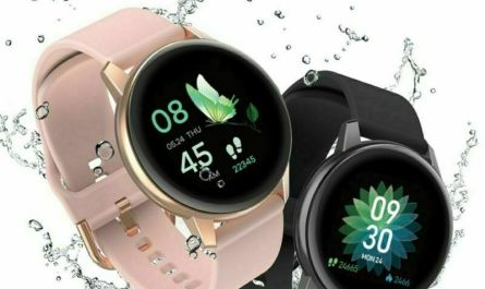 Bluetooth Smart Watch Blood Pressure Fitness IP68 Wristband for IOS Android US