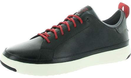 Cole Haan Grandpro Men's Leather Lace-Up Waterproof Tennis Shoes
