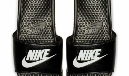 Nike BENASSI JDI Mens Womens Black White 343880-090 Slides Sandals