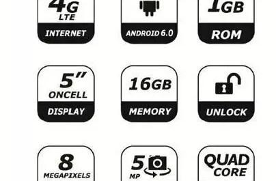 Six Mobile Signus Andriod Phone - Unlocked