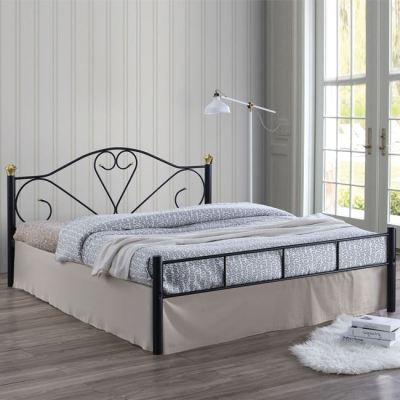 LAZAR κρεβάτι διπλό 150 Μεταλλικό με στρώμα