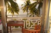 Balcony at the InterContinental Resort Tahiti