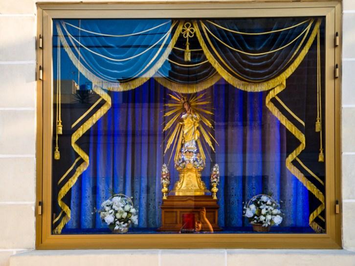 Icône de la Vierge Marie à Naxxar, Malte