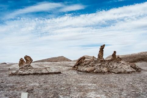 Les Trois Maries, Valle de la Luna, San Pedro de Atacama