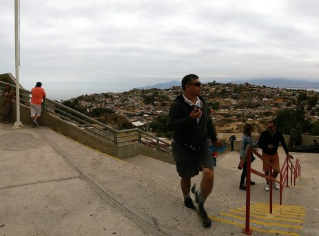 Chili, Coquimbo : la Croix du 3e Millénaire