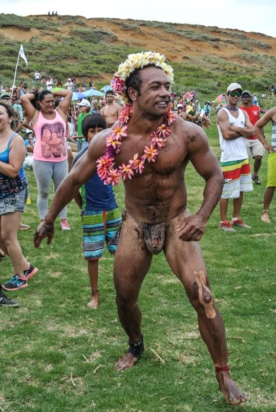 Le gagnant du triathlon Rapa Nui du Tapati