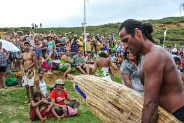 Le perdant du triathlon Rapa Nui du Tapati