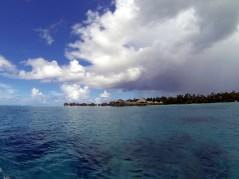 Sur le lagon de Raiatea-Taha'a