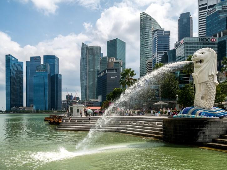 Singapour, Merlion