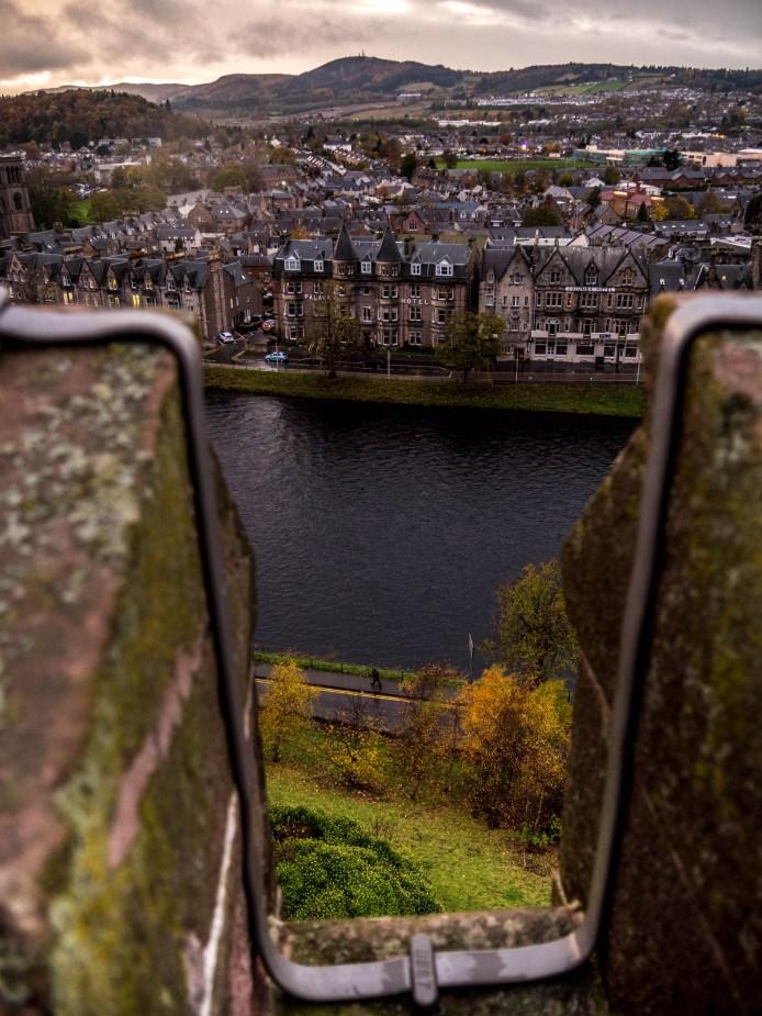 Inverness, vue d'en haut