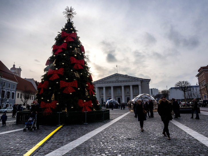 Place de l'Hôtel de ville, Vilnius