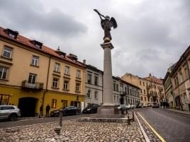 L'ange d'Užupis,, Vilnius