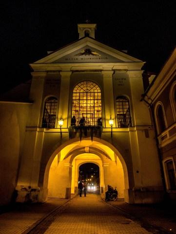 Porte de l'Aurore, intérieur, Vilnius