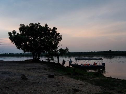 Le Nil à Marchinson Falls National Park