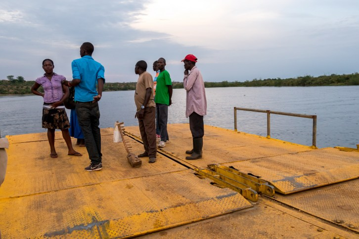 Bac sur le Nil, Ouganda