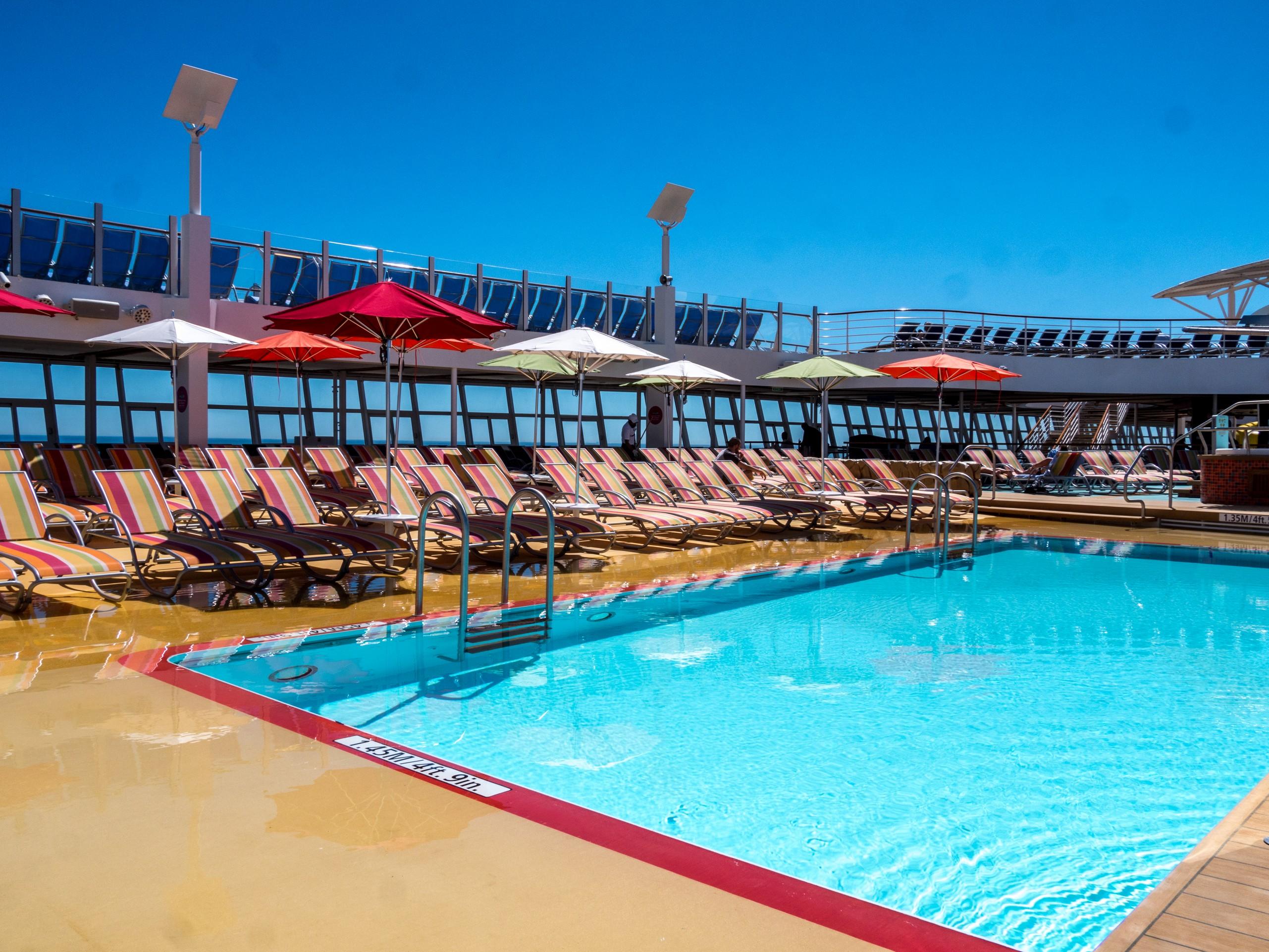 Symphony of the Seas, piscine