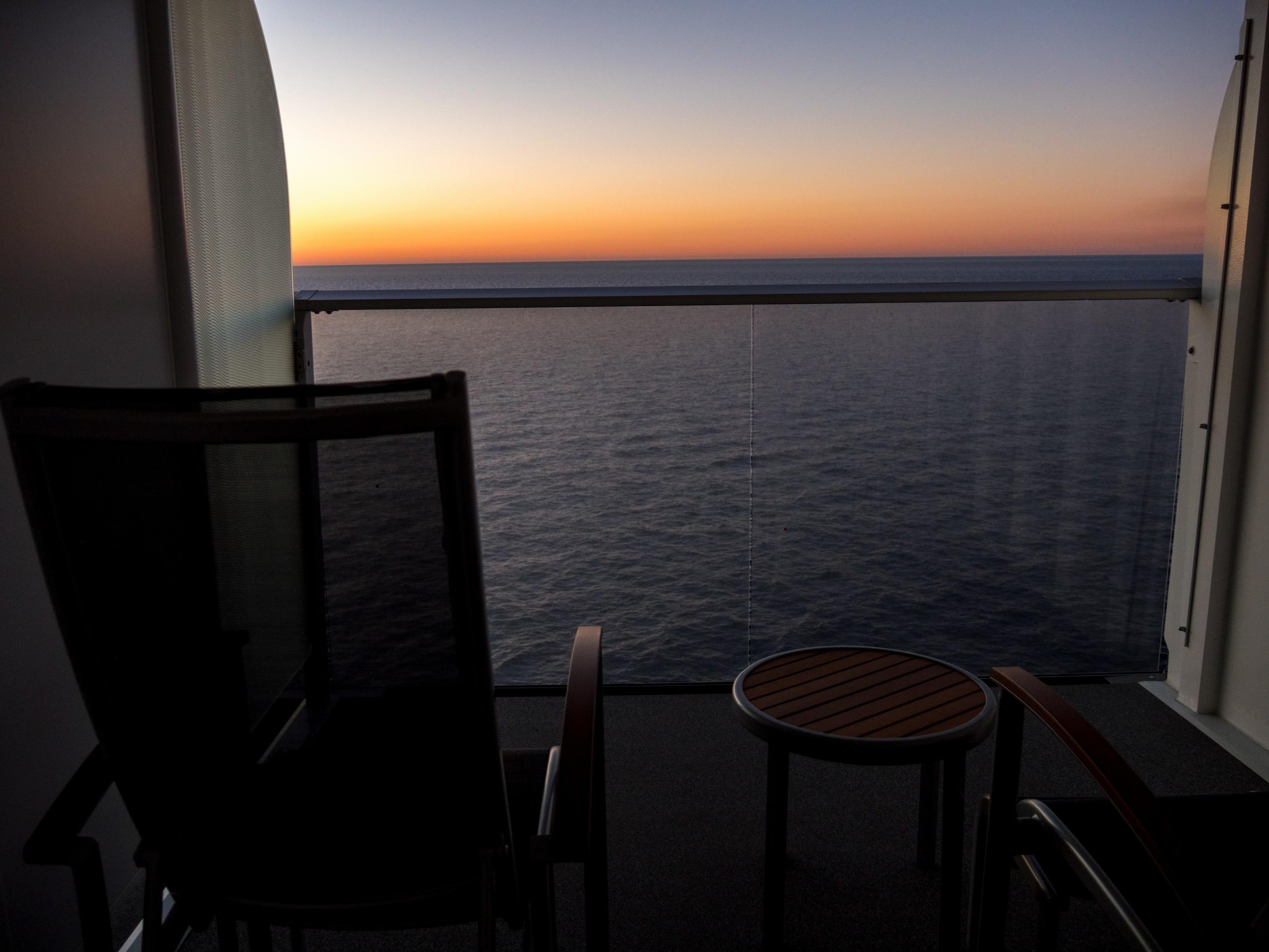 Symphony of the Seas , cabine balcon