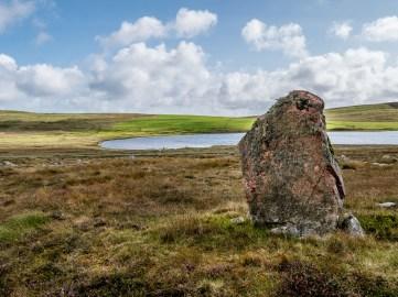 Housetter standing stones, Shetland