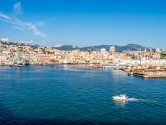Départ du MSC Orchestra à Gênes