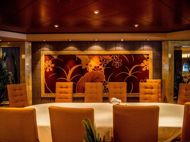 "MSC Orchestra :Restaurant ""Hibiscus"""
