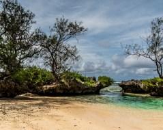 Baie des Vierges, Rimatara, îles Australes
