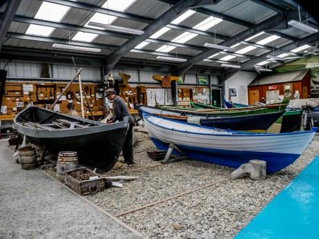 ïles Shetland, Unst : Unst Boat Haven