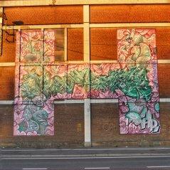 Fresque Street-ArtSide : H