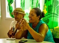 A bord du Tuaa Pae IV, chants à l'approche de Rapa Iti